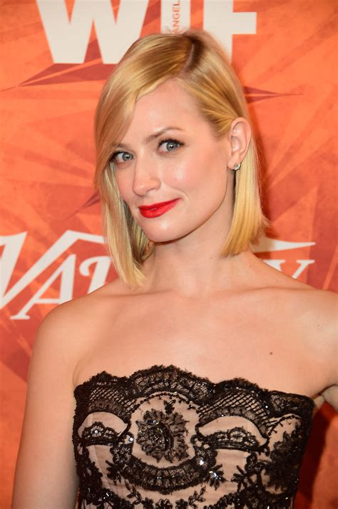 Beth Behrs Broke Girls Will Serve Life Lessons