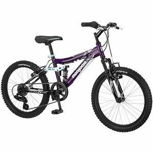 "20"" Mongoose Girls' Ledge 2.1 Mountain Bike - Walmart.com"