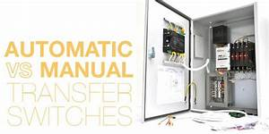 Automatic Vs  Manual Transfer Switches