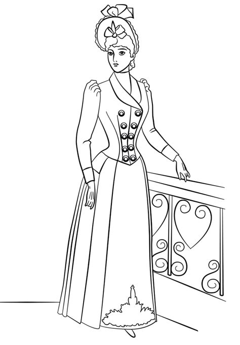 Coloring Top by Top Model Coloring Pages To And Print For Free