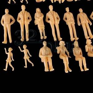Maßstab Berechnen Modellbau : 100 stk modellbau figuren 1 24 architektur figuren ma stab 1 24 1 25 zubeh r ebay ~ Themetempest.com Abrechnung