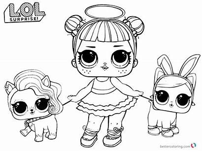 Lol Coloring Dolls Pet Sugar Doll Boyama