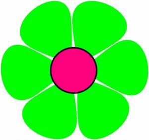 Green Flower Clip Art at Clker.com - vector clip art ...