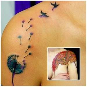 Tatuaje Ave Fenix Pequeño Tattoo Art