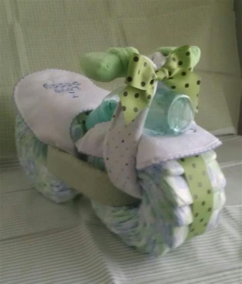 Motorcycle Diaper Cake  My Creations Pinterest