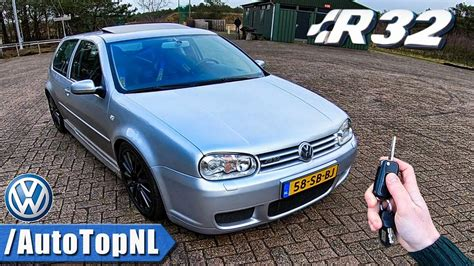 car repair manuals online free 2004 volkswagen r32 parental controls vw golf mk4 r32 review pov test drive by autotopnl youtube