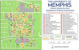 Memphis University Campus Map