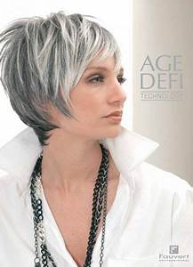 Coupe Courte Femme Cheveux Gris : coiffures cheveux blancs et gris ~ Melissatoandfro.com Idées de Décoration