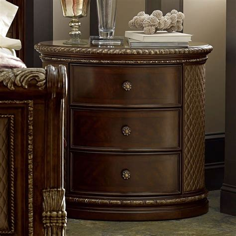 Oval Nightstand by Gables Oval Nightstand Furniture Furniture Cart