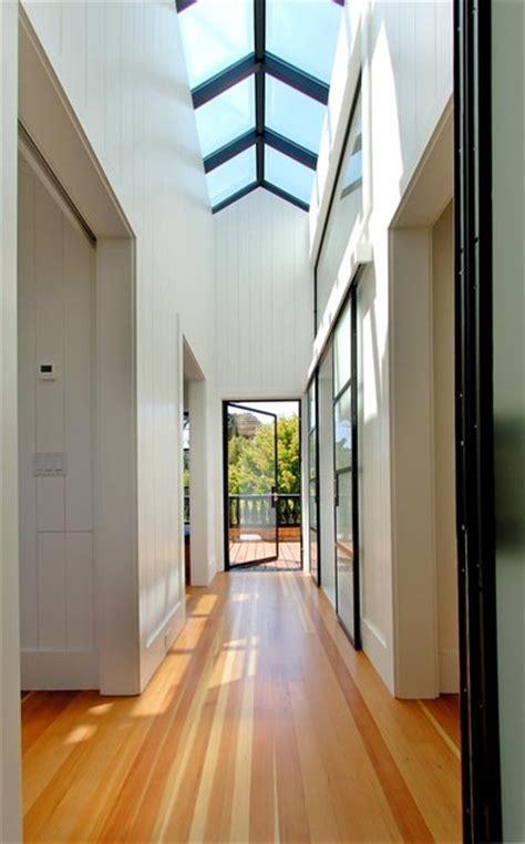 hallway skylight contemporary hall san francisco