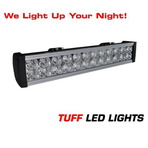 tuff led lights utv side by side 20 quot inch led light bar