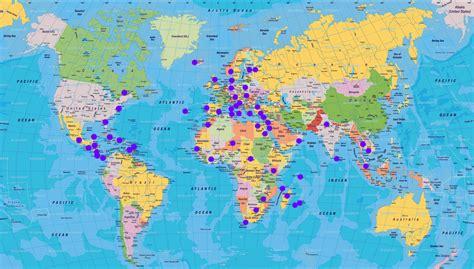 Carte Du Monde à Imprimer A3 by Carte Du Monde Sur Mesure My