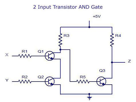 digital electronics logic gates basicstutorialcircuit