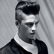 Undercut Hairstyle Men Pompadour