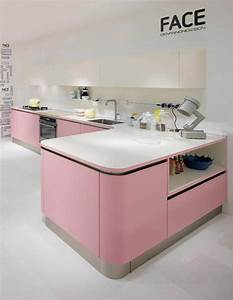 Cuisine Rose Poudré : les cuisines roses la couleur tendance de l t 2016 le bon cuisiniste ~ Melissatoandfro.com Idées de Décoration