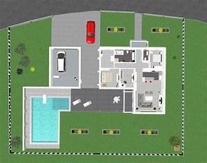 BV Danwood Bungalow Grundriss 3D Bautagebuch DAN WOOD