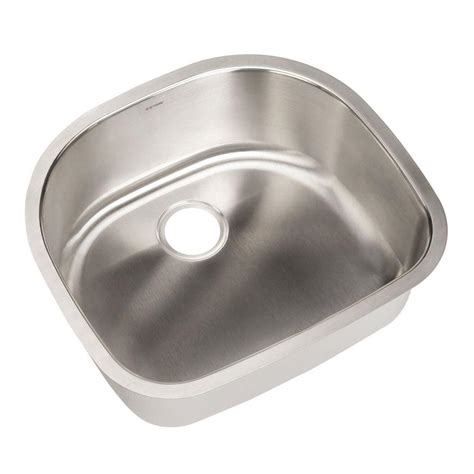 kitchen sink sts houzer eston series undermount stainless steel 23 in 2908