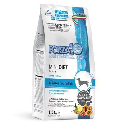 alimenti per cani forza 10 forza10 mini diet al pesce alimento per cani su zooplus