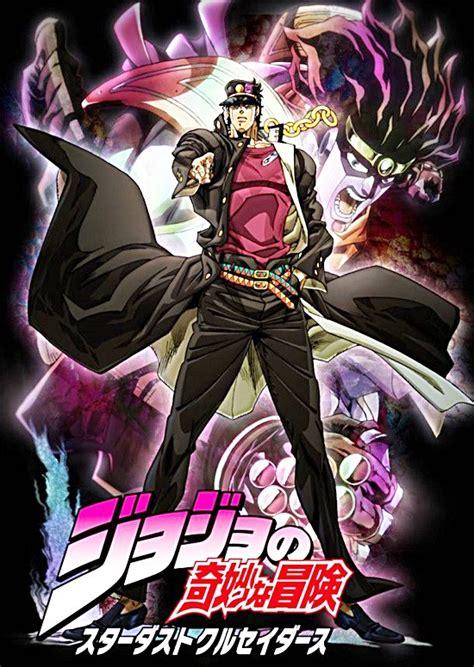 anime jojo theme anime review jojo s adventure stardust