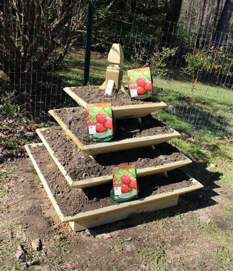 downloadable woodworking plans pyramid planter