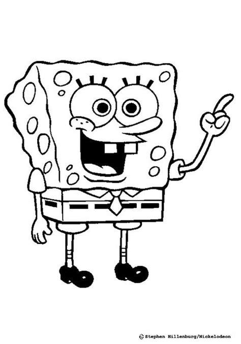 Coloring Spongebob by Sponge Bob Coloring Pages Hellokids