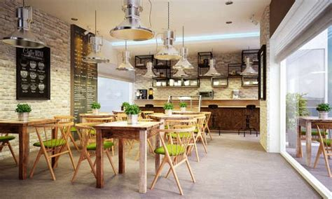 Folding Chairs For Small Coffee Shop Interior Design Ideas