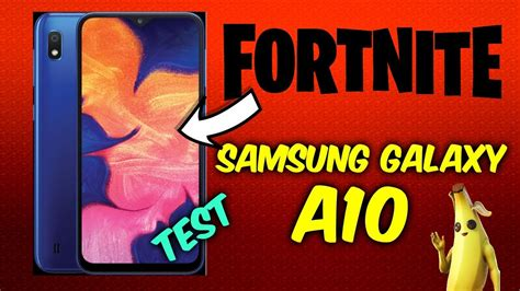 samsung galaxy  fortnite mobile performance short