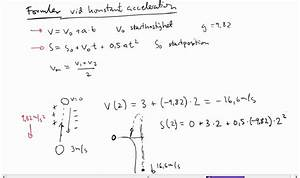 Freier Fall Geschwindigkeit Berechnen : fysik 1 fritt fall och acceleration youtube ~ Themetempest.com Abrechnung