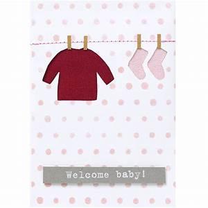 Online Shop De : r der online shop babykarte rosa welcome baby online kaufen ~ Buech-reservation.com Haus und Dekorationen
