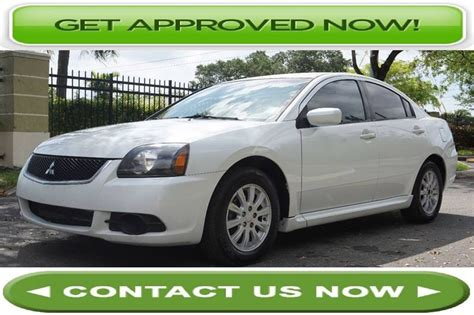 2010 Mitsubishi Galant Fe by 2010 Mitsubishi Galant Sedan Fe Cars For Sale