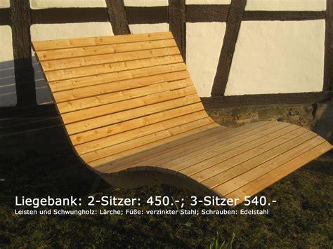 Liegebank Holz Swalif