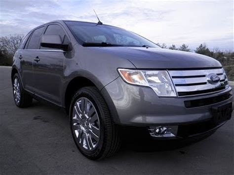 sold ford edge limited fwd  owner  leather