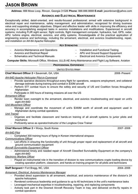 resume for electrical maintenance engineer best resume