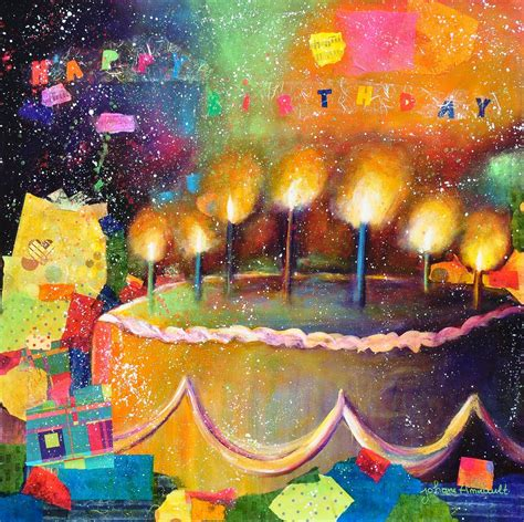 happy birthday   artist happy birthday art happy