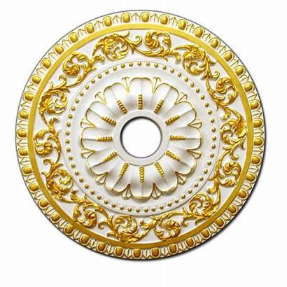 Ceiling Medallion Gold Medallions Decorative Fdcb J1002