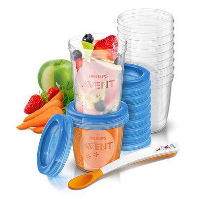 kit gourmet conservation pur 233 es de philips avent pots aubert