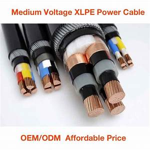 China Xlpe Insulated Pvc Sheathed Mv   Hv Cable  High