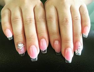 Image Gallery light pink acrylic nails