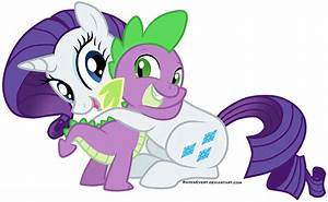 My Little Pony Friendship Is Magic Spike And Rarity | www ...