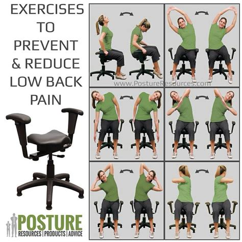 prevents and relieves low back the wobble chair is