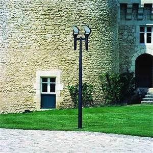 Lampadaire Exterieur Design : lampadaire ext rieur 2 lampes design roger pradier olympic 3 ol3174 lampadaires ext rieurs ~ Teatrodelosmanantiales.com Idées de Décoration