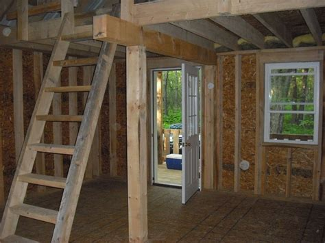 Storage Barn Plans With Loft