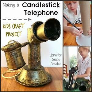 School Homework Kids Craft - Making A Candlestick ...
