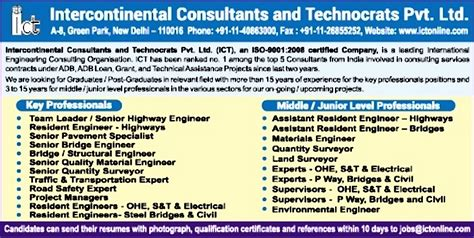 resident engineers s t electrical new delhi