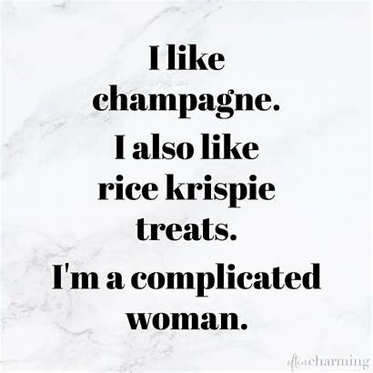 Funnies Friday Charming Often Complicated Krispie Champagne