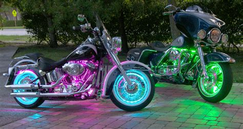 glow motorcycle led accent light kits