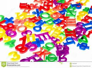 plastic numbers and letters close up stock image image With plastic letters and numbers