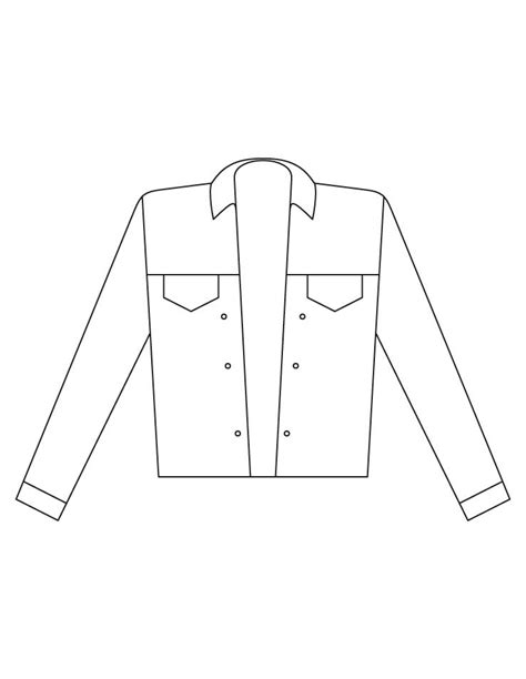 jacket coloring pages   jacket coloring