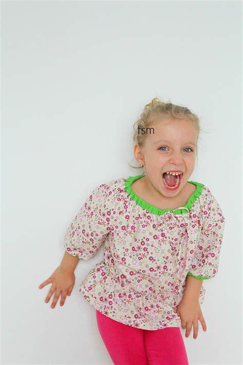 girls peasant blouse pattern favecraftscom