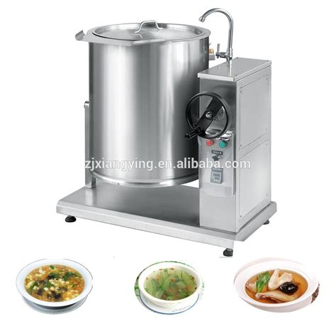 kitchen cooking accessories xydg h100 industrial electric boiling pot cooking 3412